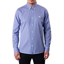 Buy Pretty Green Hendry Gingham Shirt, Blue Online at johnlewis.com