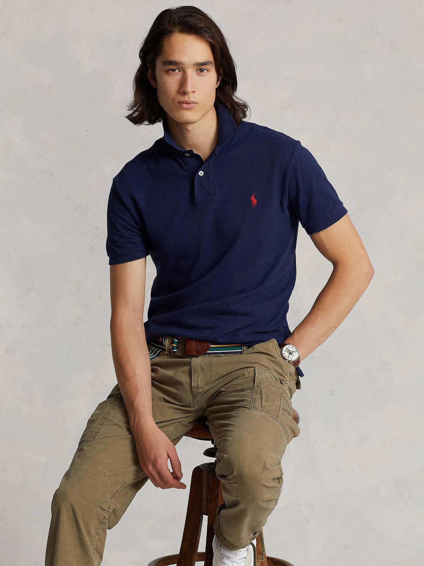 d0cfe2b8c6bdc Buy Polo Ralph Lauren Short Sleeve Slim Fit Polo Shirt