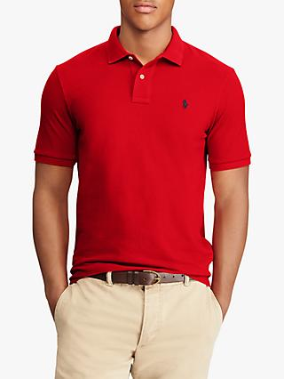 Polo Ralph Lauren Custom Slim Polo Shirt, Red
