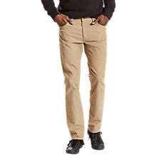 Buy Levi's 511 Slim Fit Chinos, True Colour Online at johnlewis.com