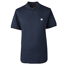 Buy Pretty Green Tendale Polo Shirt, Dark Blue Online at johnlewis.com