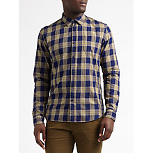 Buy Scotch & Soda Brushed Cotton Long Sleeve Shirt Online at johnlewis.com