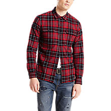 Buy Levi's Jackson Worker Shirt, Red Dahlia Online at johnlewis.com