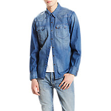 Buy Levi's Sawtooth Western Shirt, Carbon Mid Online at johnlewis.com