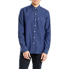 Buy Levi's Sunset One Pocket Shirt, Caspia Indigo Online at johnlewis.com