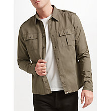 Buy Pretty Green Marlinford Long Sleeve Shirt Online at johnlewis.com