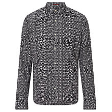 Buy Scotch & Soda Baroque Print Shirt, Black/White Online at johnlewis.com