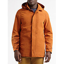 Buy Scotch & Soda Classic Removable Hood Parka, Rust Online at johnlewis.com