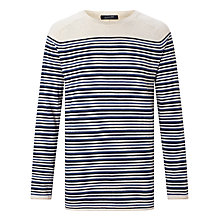 Buy Scotch & Soda Cotton Cashmere Jumper, Multi Online at johnlewis.com