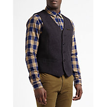 Buy Scotch & Soda Donegal Wool Waistcoat, Combo A Online at johnlewis.com