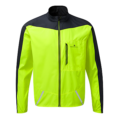 Ronhill Stride Windspeed Men's Running Jacket, Yellow