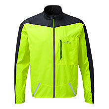 Buy Ronhill Stride Windspeed Men's Running Jacket, Yellow Online at johnlewis.com