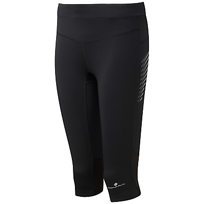 Ronhill Stride Stretch Running Capris, Black