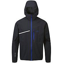 Buy Ronhill Stride Rainfall Men's Waterproof Running Jacket, Black/Blue Online at johnlewis.com