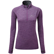 Buy Ronhill Infinity Merino Blend 1/2 Zip Long Sleeve Running Top, Purple/Yellow Online at johnlewis.com