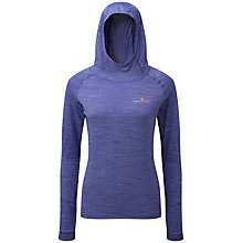 Buy Ronhill Momentum Aerobic Running Hoodie, Dark Blue Online at johnlewis.com