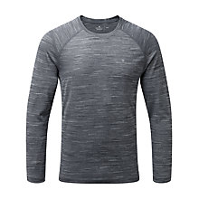 Buy Ronhill Momentum Long Sleeve Running Top, Charcoal Online at johnlewis.com