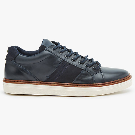 Buy John Lewis Stamford Cupsole Leather Trainers Online at johnlewis.com