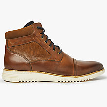 Buy John Lewis Islington Lightweight Boots, Brown Online at johnlewis.com