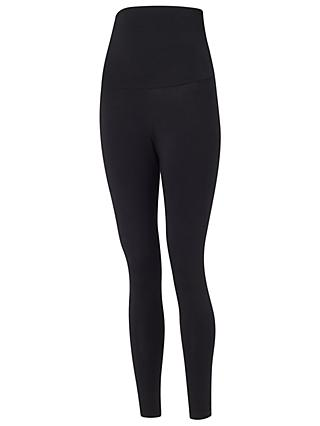 Isabella Oliver Panel Maternity Nursing Leggings, Black Caviar