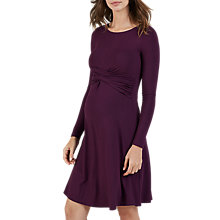 Buy Isabella Oliver Saskia Maternity Dress, Red Cherry Online at johnlewis.com