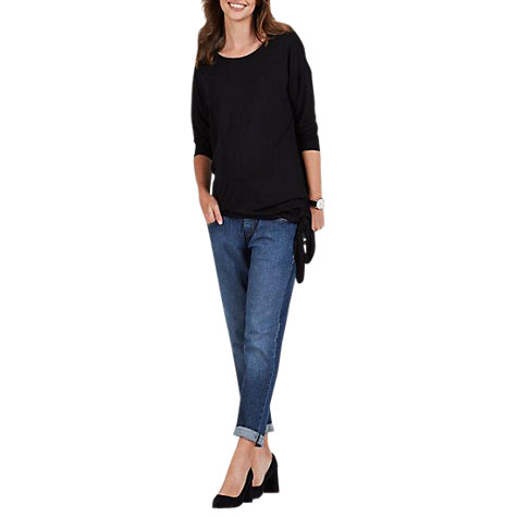 Buy Isabella Oliver Cecily Maternity Top, Black Caviar Online at johnlewis.com