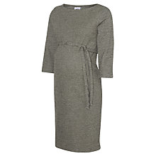 Buy Mamalicious Tartan 3/4 Jersey Maternity Dress, Grey Online at johnlewis.com