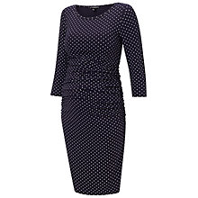 Buy Isabella Oliver Jennifer Maternity Dress, Navy Online at johnlewis.com