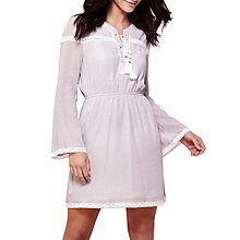 Buy Yumi Long Sleeve Dress, Grey Online at johnlewis.com
