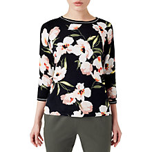 Buy Precis Petite Blair Floral Jumper, Black Multi Online at johnlewis.com