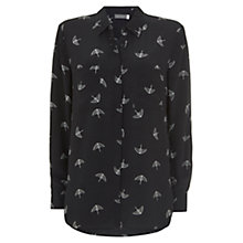 Buy Mint Velvet Imogren Printed Shirt, Multi Online at johnlewis.com