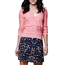 Buy Yumi Mirrored Poppy Cotton Skirt, Navy Online at johnlewis.com
