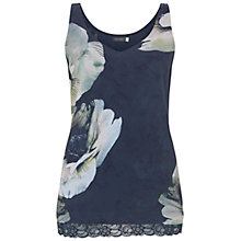 Buy Mint Velvet Laura Floral Print Cami, Multi Online at johnlewis.com