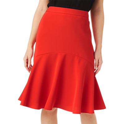 Retro Skirts: Vintage, Pencil, Circle, & Plus Sizes Precis Petite Iona Skirt Orange £69.00 AT vintagedancer.com
