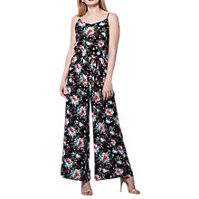 Buy Yumi Flower Print Jumpsuit, Multi Online at johnlewis.com