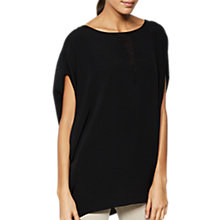 Buy Mint Velvet V-Insert Cocoon T-Shirt Online at johnlewis.com