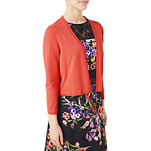 Buy Precis Petite Freya Shrug, Mid Orange Online at johnlewis.com