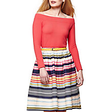 Buy Jolie Moi Nordic Stripe Skirt, Multi Online at johnlewis.com