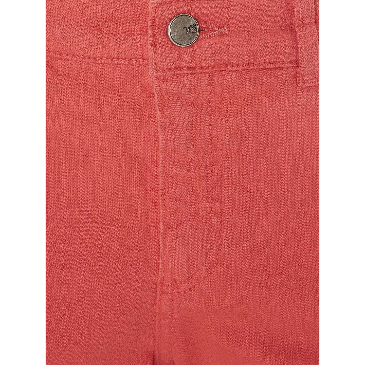 BuyWhite Stuff Sally Straight Crop Jeans, Orange, 10 Online at johnlewis.com