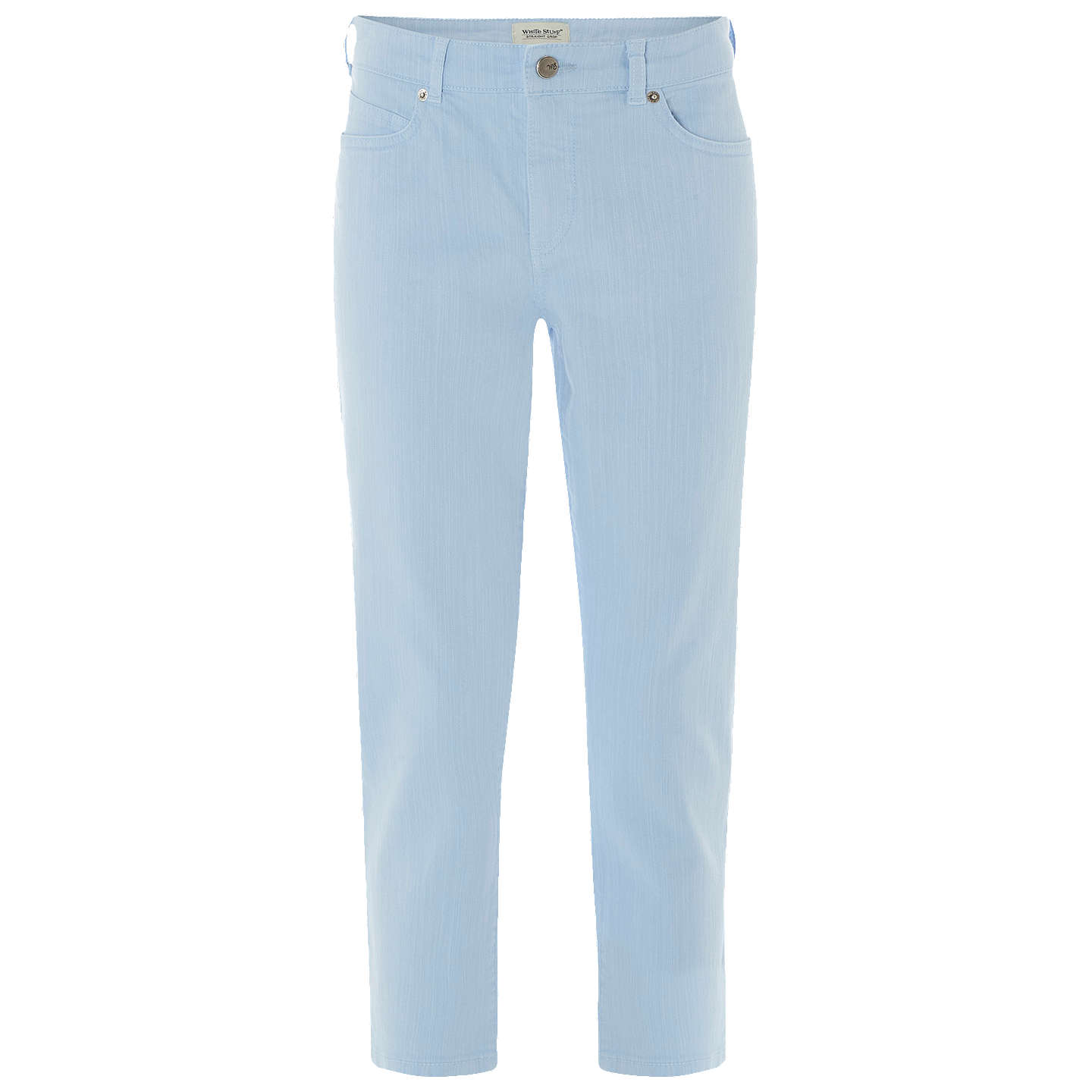 BuyWhite Stuff Sally Straight Crop Jeans, Blue, 6 Online at johnlewis.com