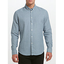 Buy Samsoe & Samsoe Liam BX Shirt, Poseidon White Online at johnlewis.com