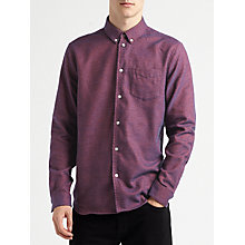 Buy Samsoe & Samsoe Liam Shirt, High Risk Red Melange Online at johnlewis.com