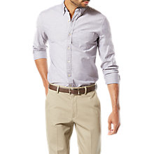 Buy Dockers Long Sleeve Stretch Oxford Shirt, Pembroke Online at johnlewis.com