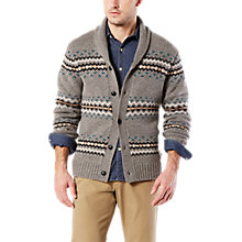 Buy Dockers Yosemite Cardigan, Medium Grey Heather Online at johnlewis.com