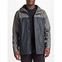 Buy Samsoe & Samsoe Drop Rain Waterproof Jacket, Grey Blue Online at johnlewis.com