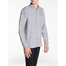 Buy Hawksmill Denim Co Fleck Stripe Shirt Online at johnlewis.com