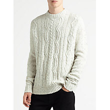 Buy Samsoe & Samsoe Doug Jumper, Clear Cream Online at johnlewis.com