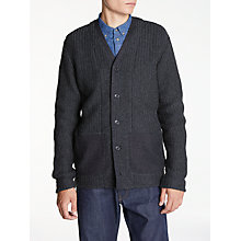 Buy Levi's Made & Crafted Novelty Cardigan, Caviar Online at johnlewis.com