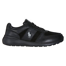 Buy Polo Ralph Lauren Cordell Lace Up Leather Trainers Online at johnlewis.com