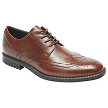 Buy Rockport Madson Wingtip Shoes, Brown Online at johnlewis.com